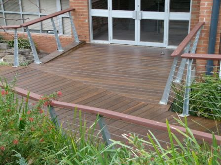 Deck restoration - with Timberguard