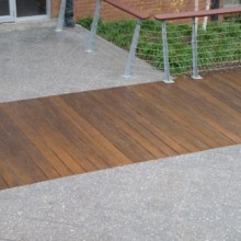 Coated with Natural Tone Timberguard